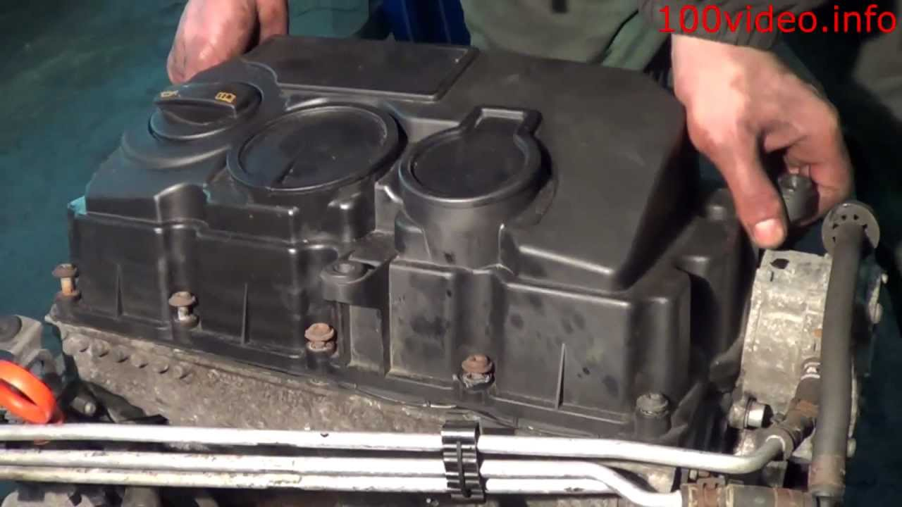 Demontáž vrchného krytu motora 1.9 TDI PD 77kW BLS