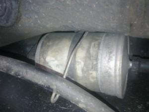 vymena palivoveho filtra 2