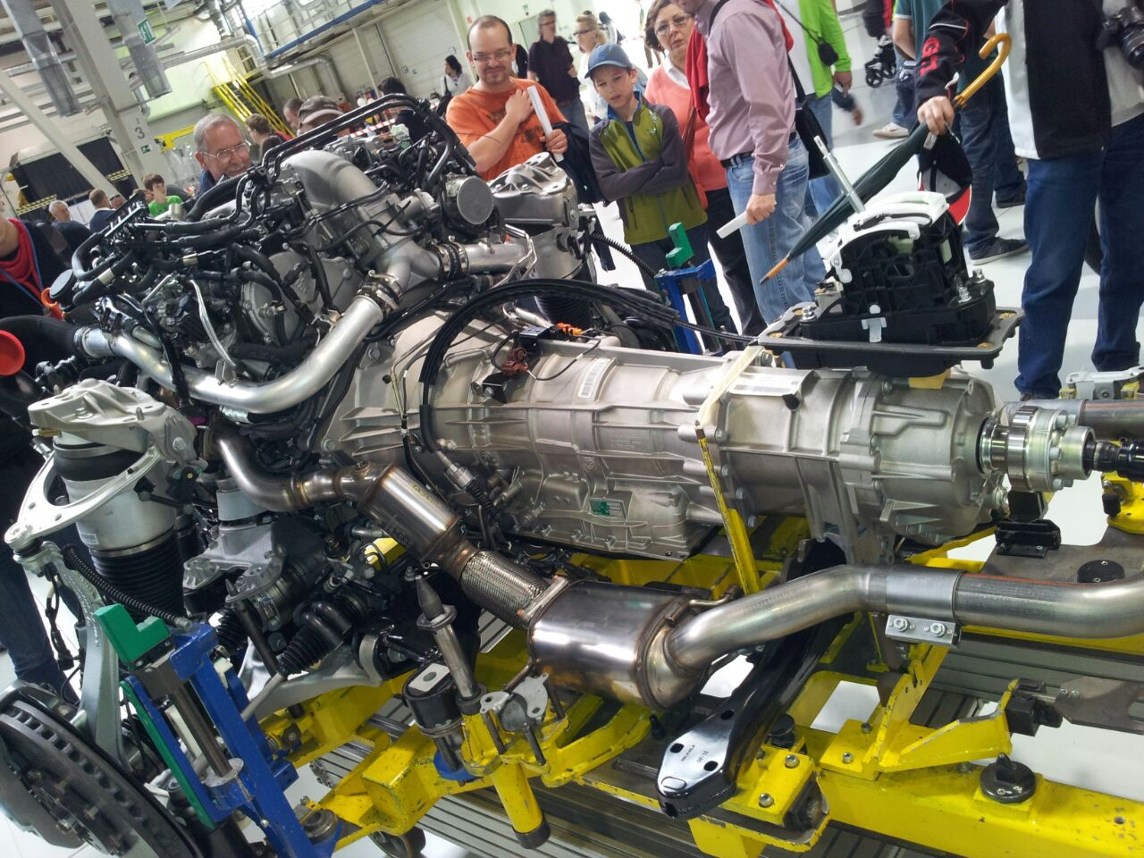 motor engine Q7 1