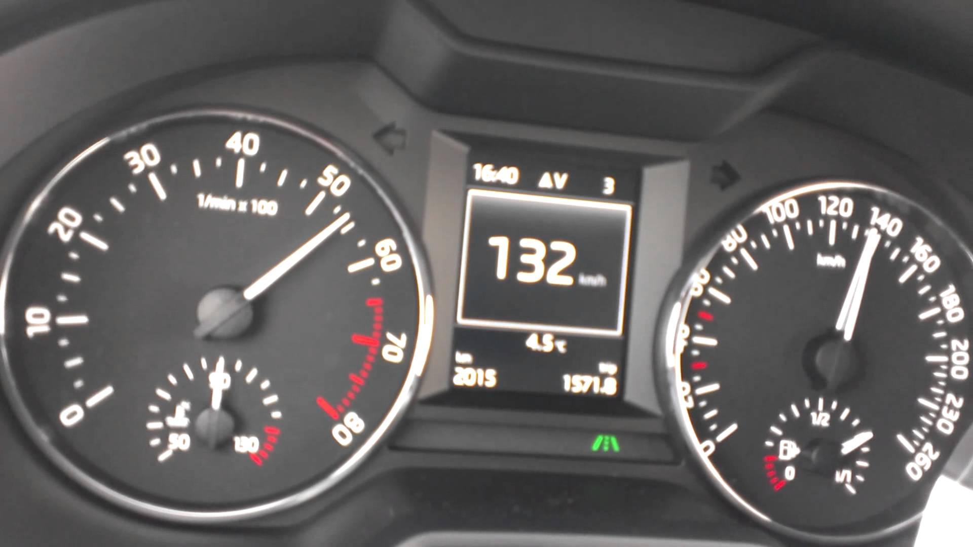 Škoda octavia III 1.4 TSI 103kW 250NM akcelerace