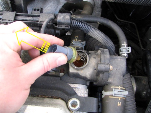 2005 Ford Escape Coolant Temperature Sensor Location 2005