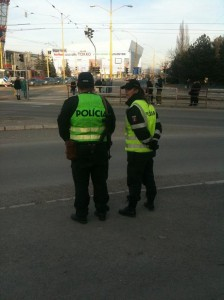 policajti pneumaiky