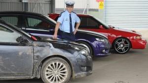 policia zabavene auto