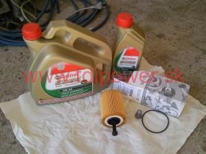 vymena oleja 1.9 TDI BLS 1