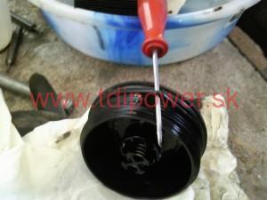 vymena oleja 1.9 TDI BLS 8