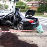 BURNOUT BMW M5