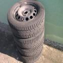 """Predám zimné pneumatiky 205/55 R16 na diskoch 16"""""""